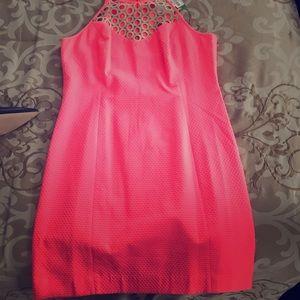 NWT Lily Watermelon Strapless Dress - Watermelon